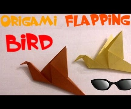 Origami Flapping Bird - Easy Origami