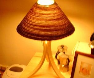 Simple Ikea-hack Lamp