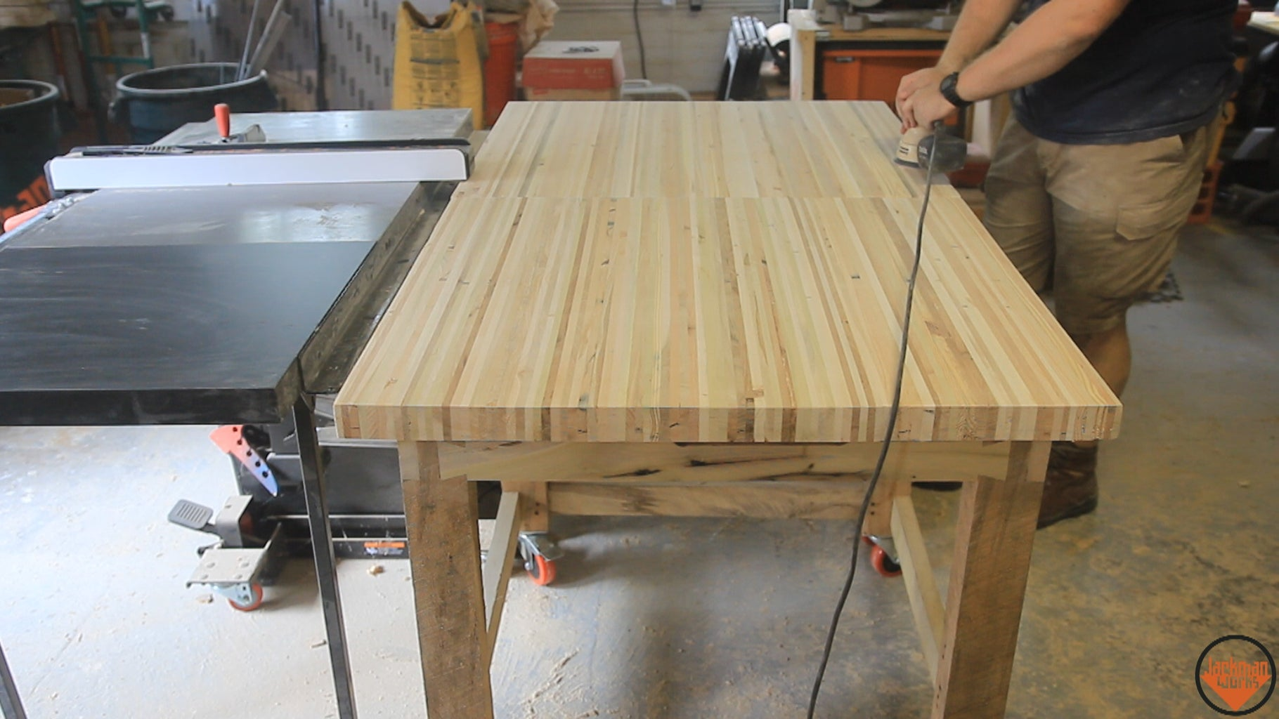 Casters & Attaching Bench Top