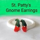 Little Leprechaun Gnome Earrings