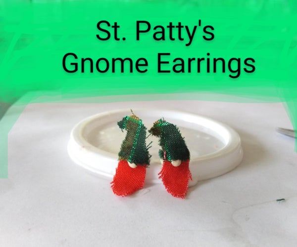 Little Leprechaun Gnome Earrings