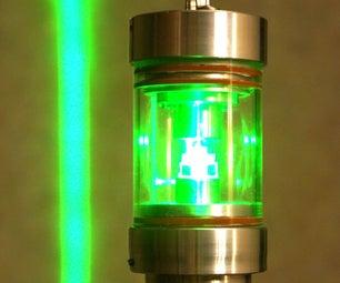 Laser Underwater Beacon