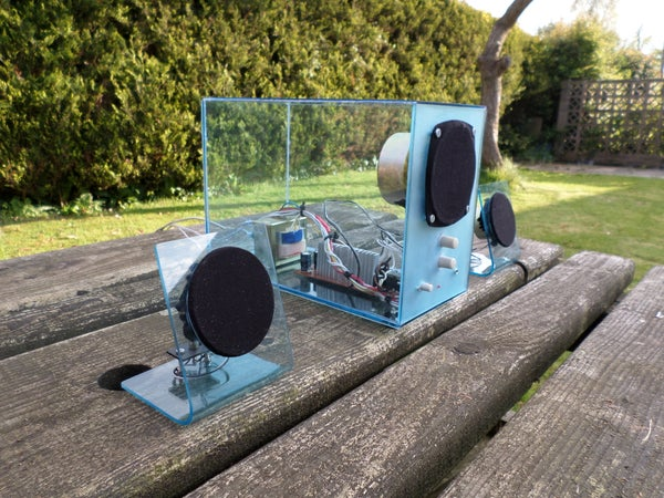Upcycle an Old Speaker System Into a Modern and See-through One!