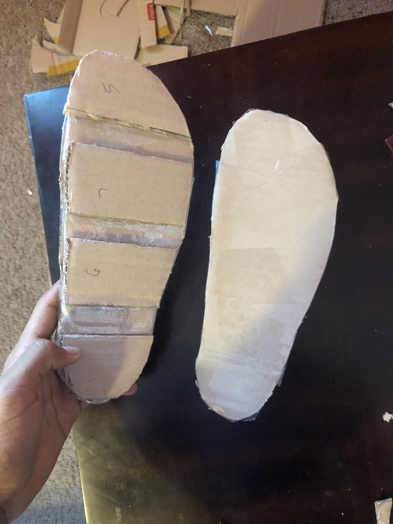 Shaping the Outsoles
