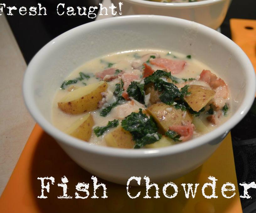 Fish Crowder, Fresh Caught!