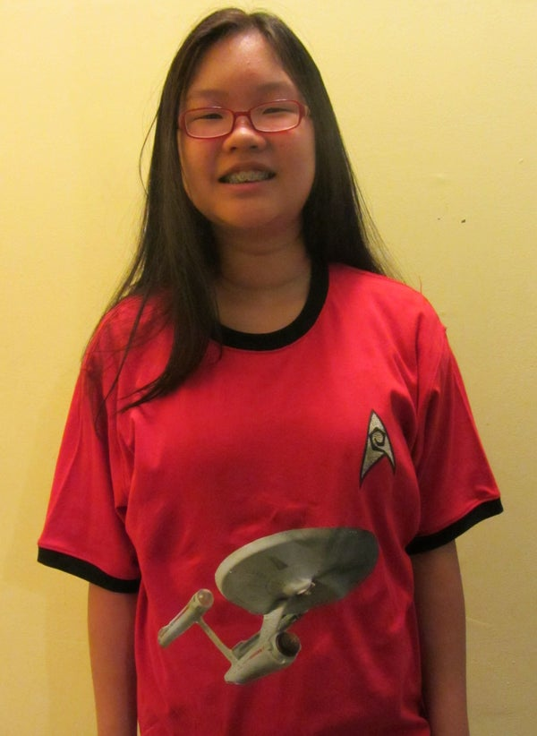 Star Trek USS Enterprise Phaser Red Shirt