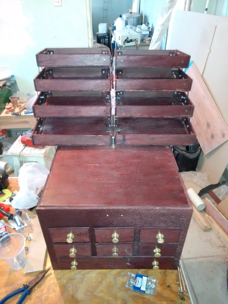 Cantilever Drawers Installation