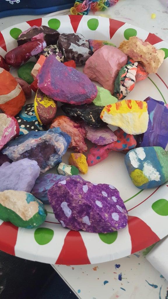 Step 3: the Rocks