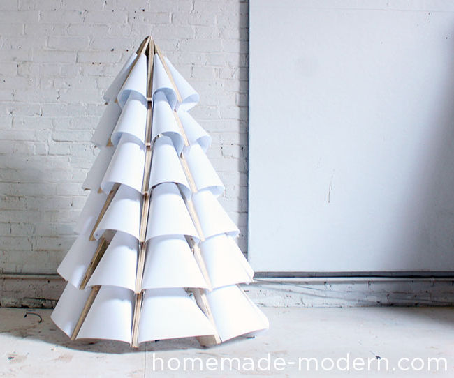 HomeMade Modern DIY Xmas Tree