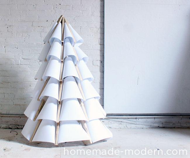 HomeMade Modern DIY Xmas Tree