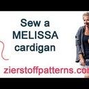 Sew a MELISSA Cardigan - Designed by Zierstoff