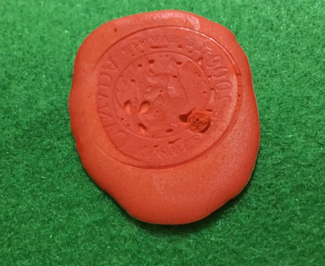 Crayon Wax Seal