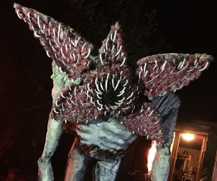 Demogorgon Lawn Ornament