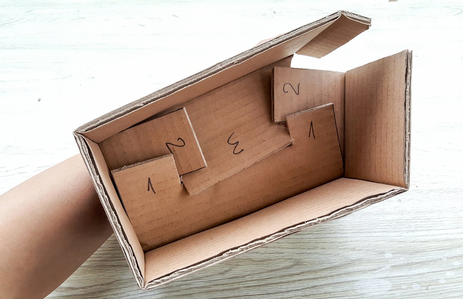 Create 4 Small Boxes