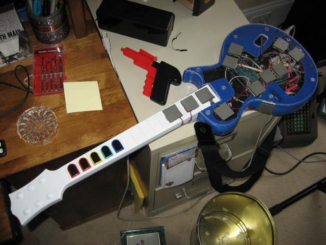 Electric Funkatron: A Guitar-Style MIDI Drum Controller