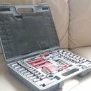 Repair hinge seam on a blowmolded case