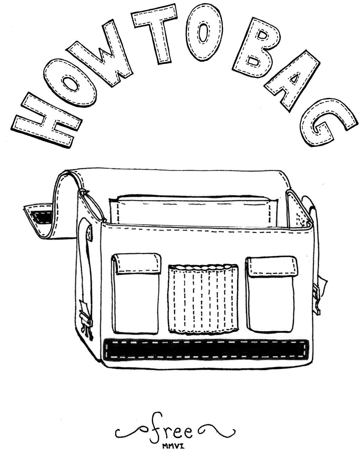 Awesome Messenger/Laptop Bag