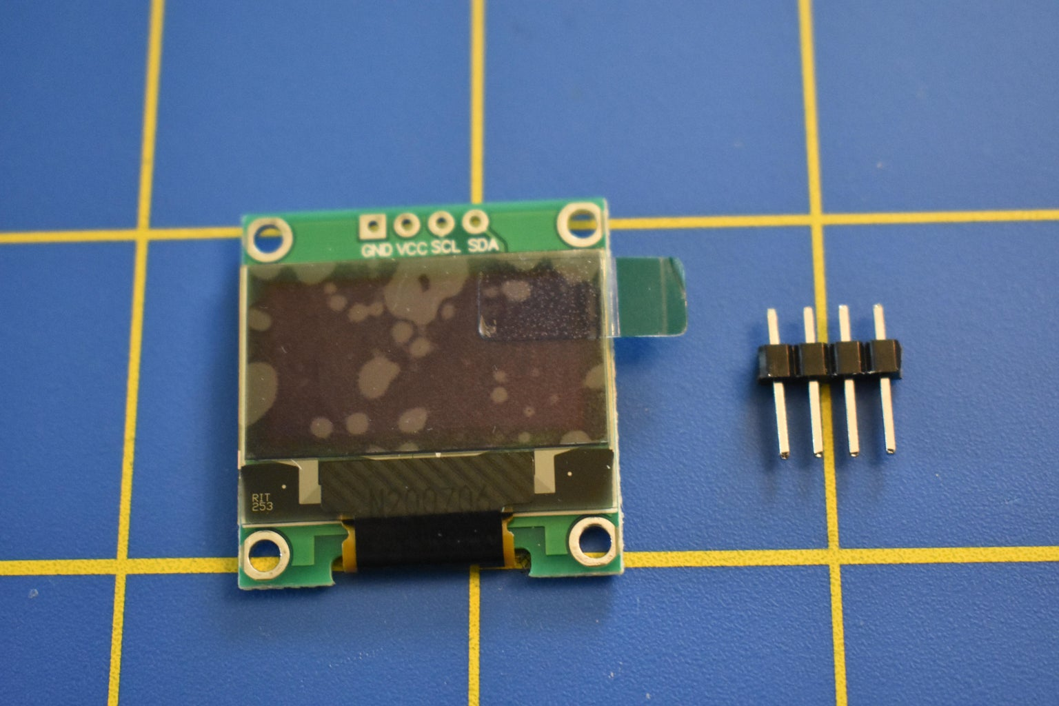 Component Selection - OLED Display