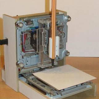 ARDUINO by Myself Mini-CNC (Plotter)
