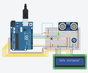 Covid-19 Safe Distance Detector