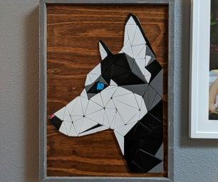 Tessellated Wooden Art