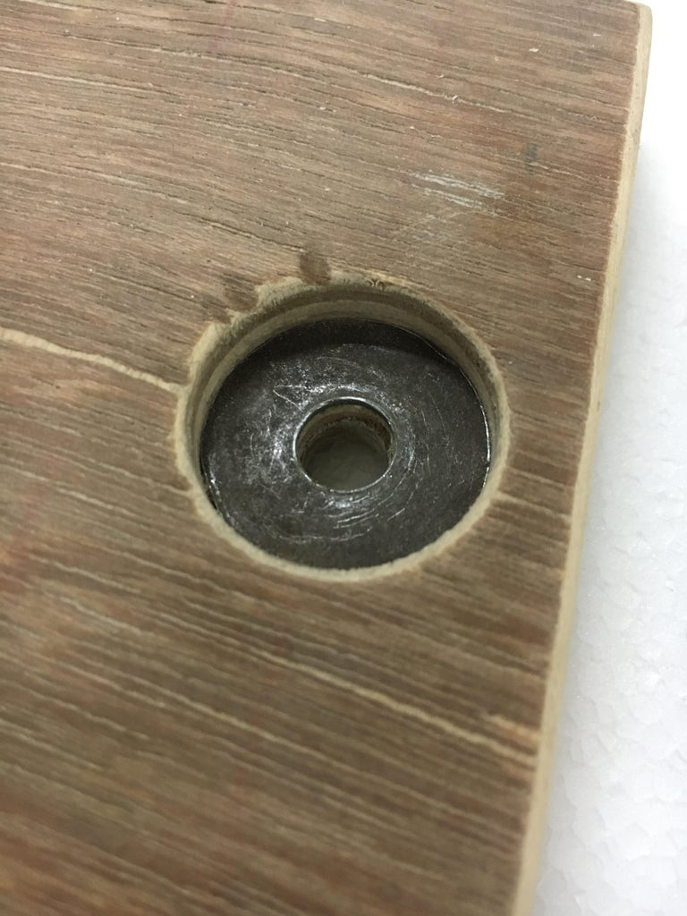Holes on the Plywood .