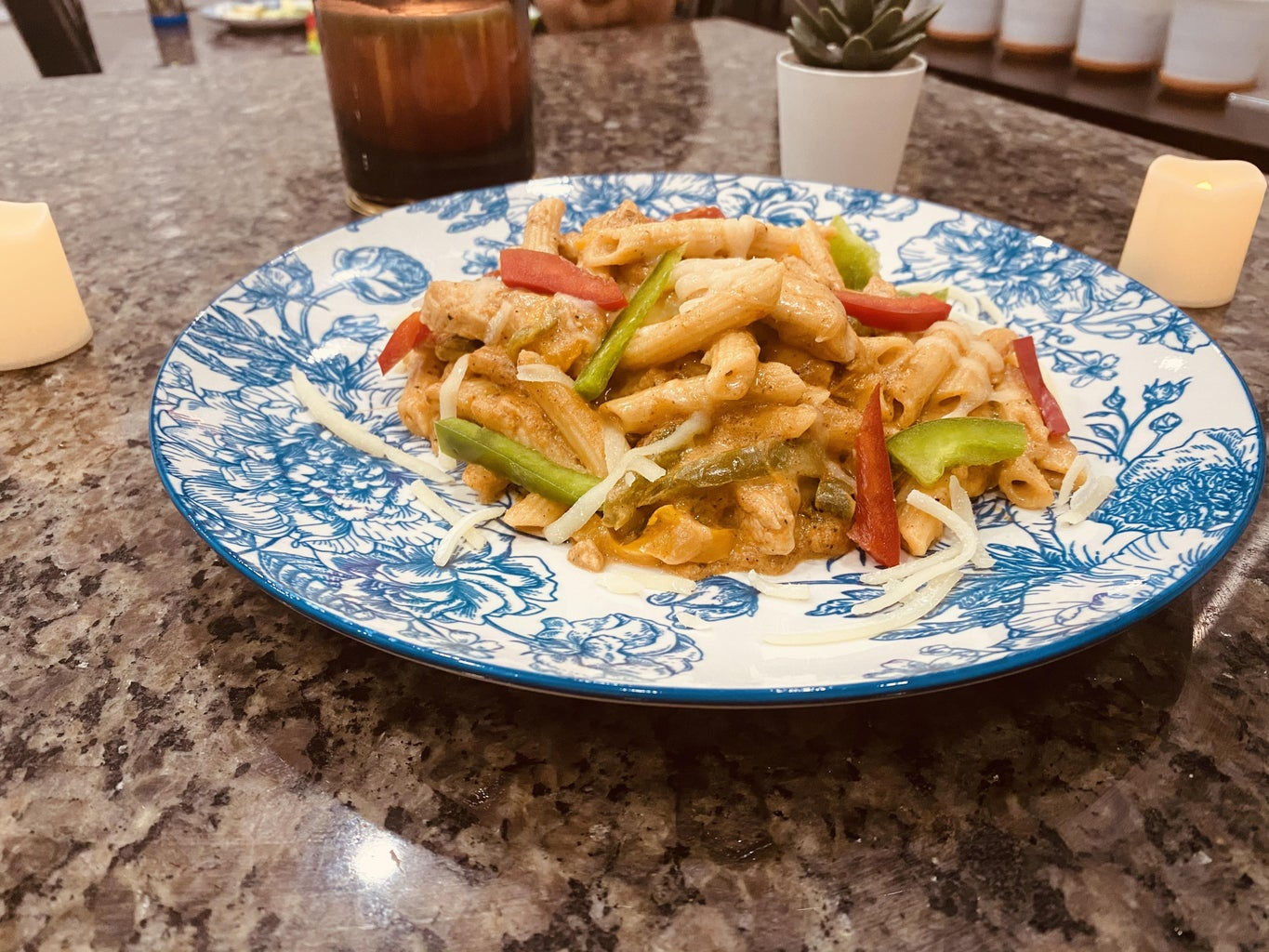 Dish Out and Enjoy Your Chicken Fajita Pasta