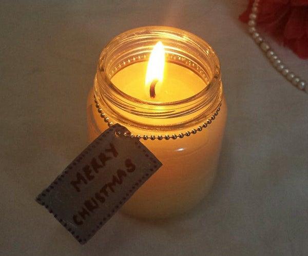 Scented Mason Jar Candle
