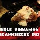 Deep Dish Apple-Cinnamon dessert pizza