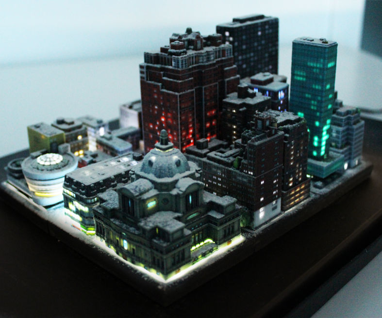 Miniature LED City