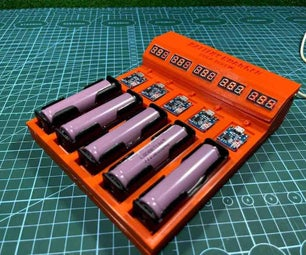 How to Make a Test/Charger 18650 Batteries for Yourself