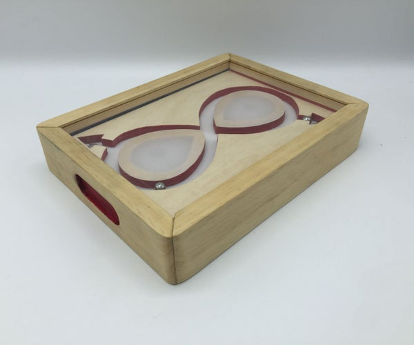Infinity Sign Wooden Marble Toy