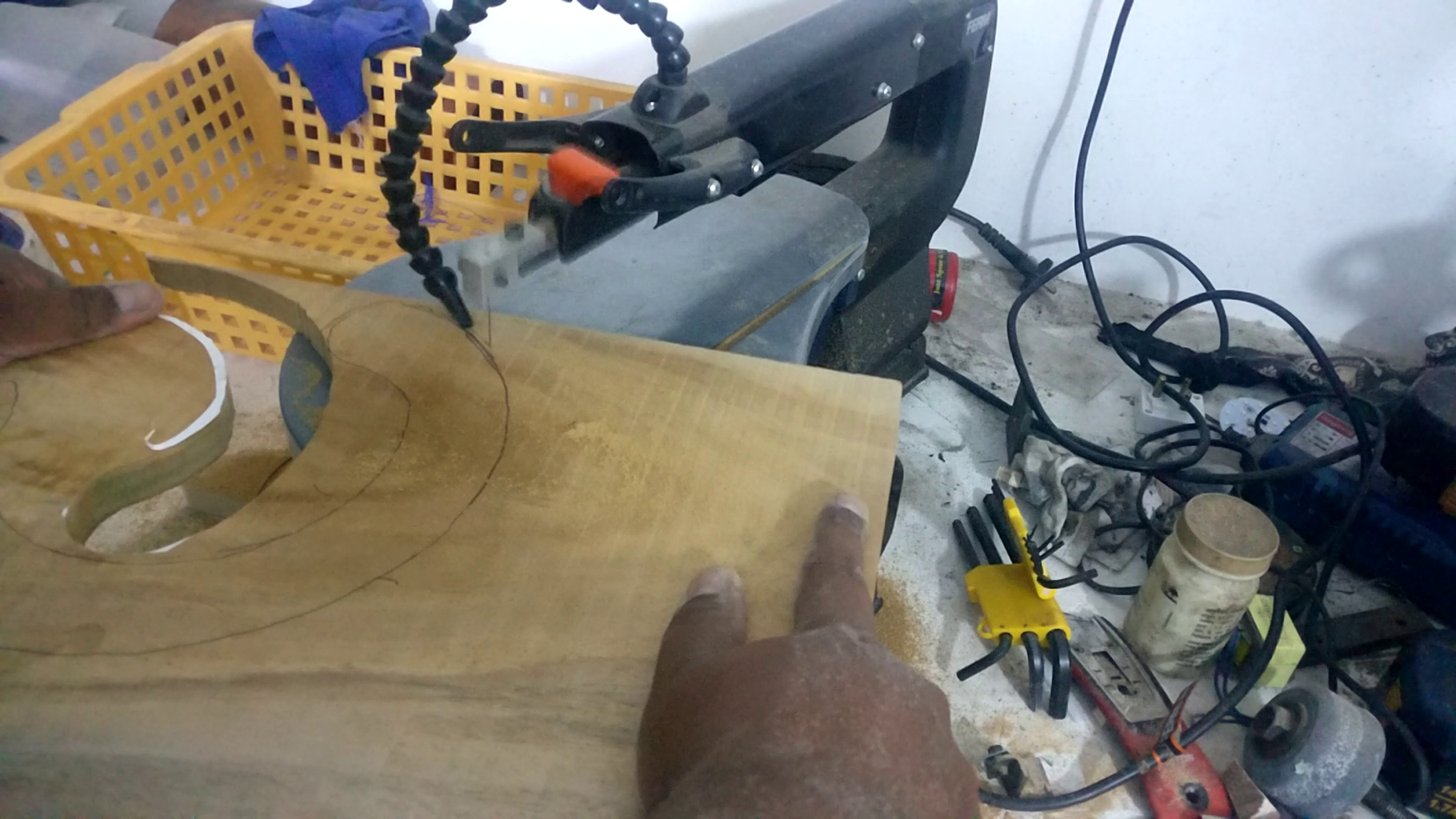 Making the Shackle