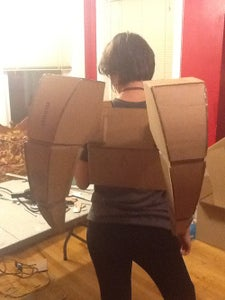 Back Attachment for Wings