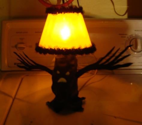 Halloween Frite-Light Tree Lamp