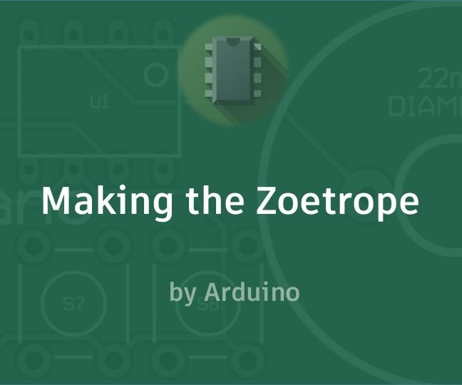 Making the Zoetrope.