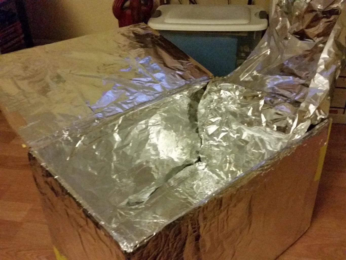 Add a Second Section of Foil