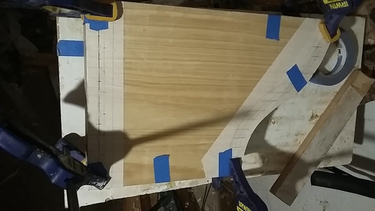 Glue the Soundboard to the Frame