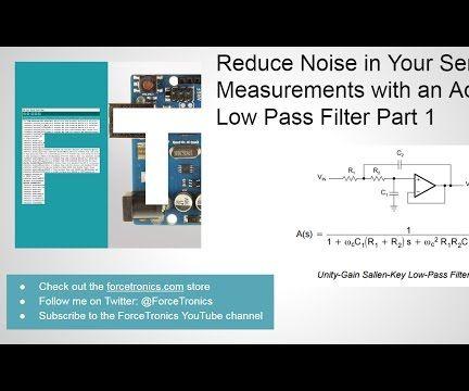 Analog Sensor Signal Conditioning Circuit