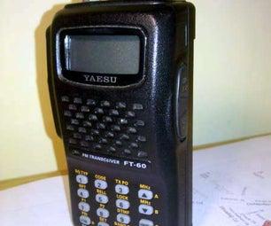 DYI Lithium Battery for Handheld Radio Yaesu FT-60