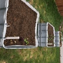 Sub-Irrigated Planter From Reclaimed IBC Water Tank