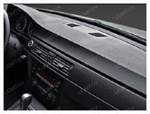How to apply carbon fiber vinyl sheet for car interior trim