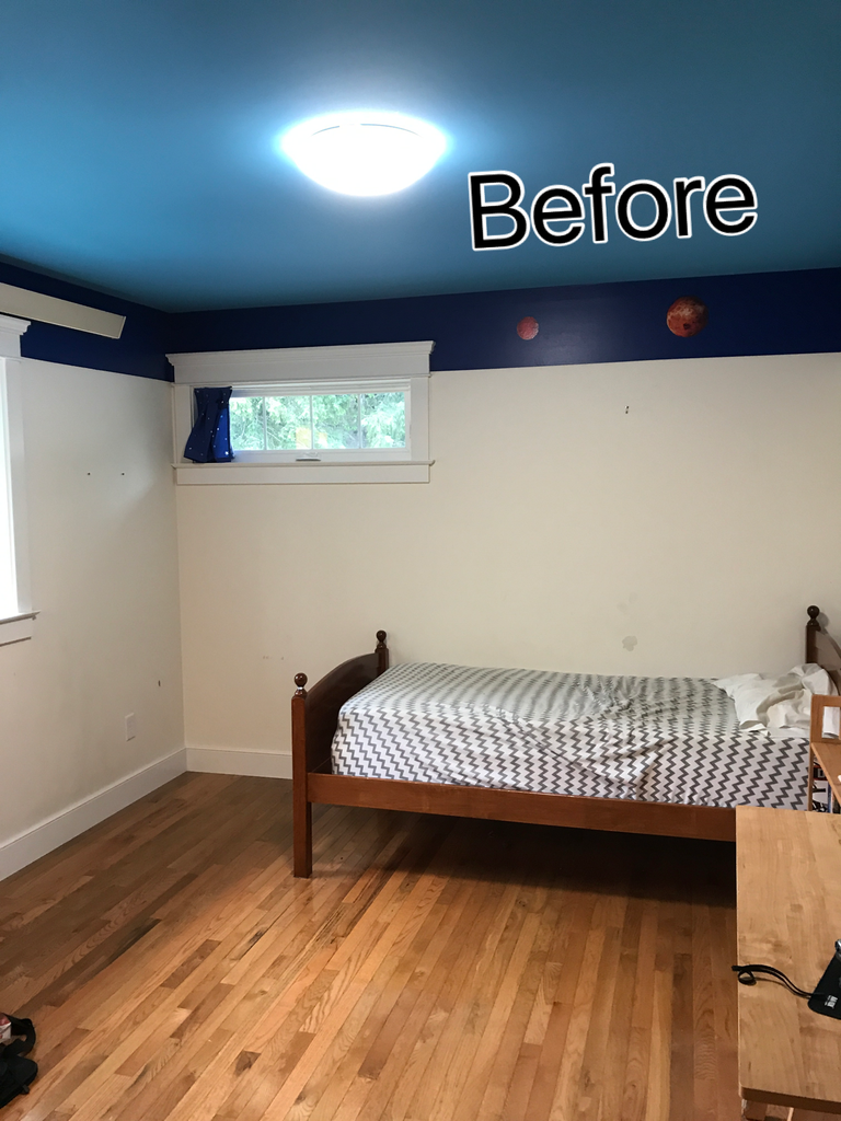 Spruce Up Your Room! Before & After
