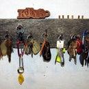 Estante de llaves Redneck con opciones