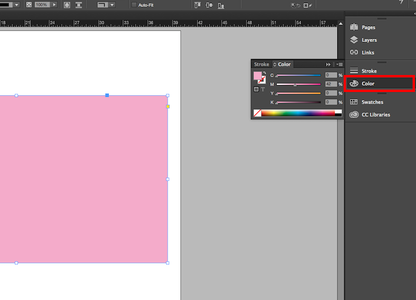 Use the Color Option to Fill in the Shape With the Color of Your Choice