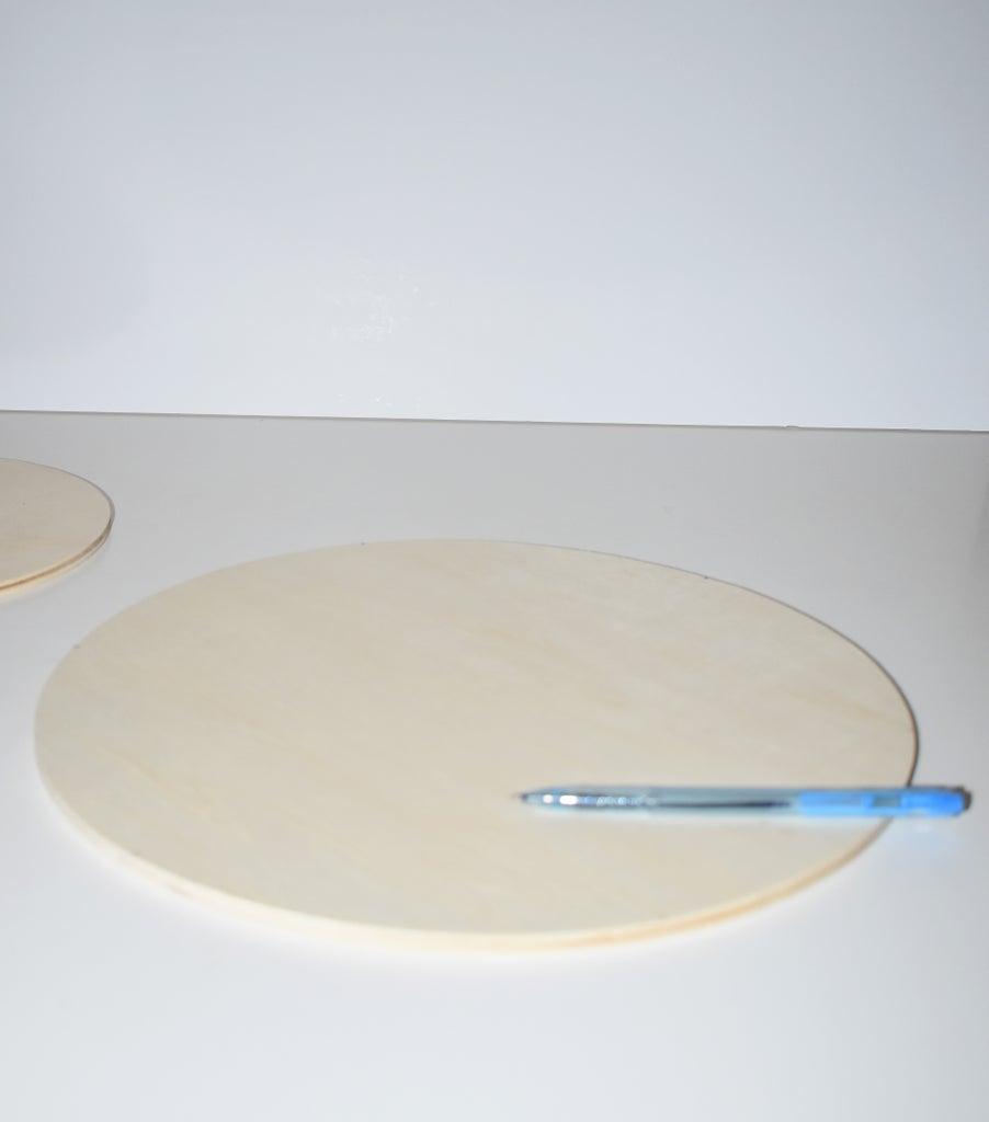 Preparing the Wood Plate