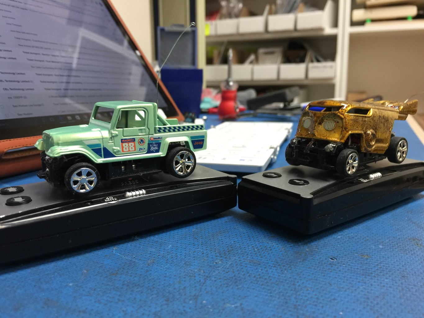 How to Modify Standard Hot Wheels to R/C Hot Wheels  :D