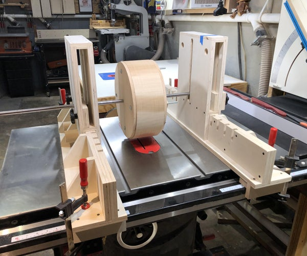 Table Saw Drum Mill