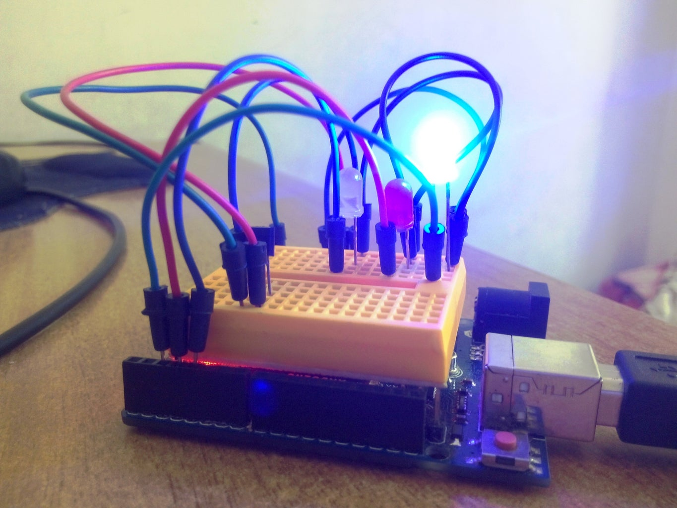 Temperature Controlled LEDs