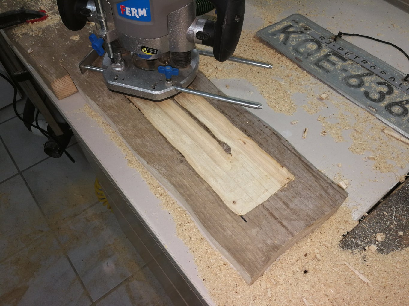 Routing the Hidden Cabinet
